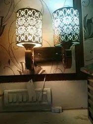 N/E Warm White Bedroom Wall Lamp