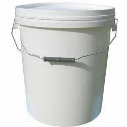 Plain Polypropylene Paint Bucket