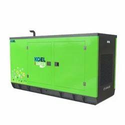 62.5 kVA KOEL Green Silent Diesel Generator, 2900 x 1100 x 1581mm