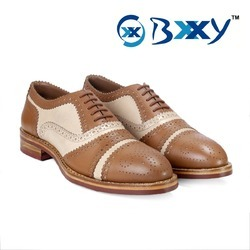 Men Leather Goodyear On Dai Nite Sole Welted Shoes, Size: 6 to 10