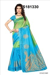 Traditional Bhagalpuri Silk Saree