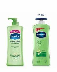 Vaseline Aloe Fresh Body Lotion 400ml MRP 345 rs/ selling price 205 rs/
