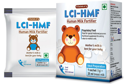 Human Milk Fortifier Powder 18 Months LCI HMF Human Milk Fortifier