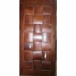 Finished Modern Wooden Door