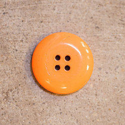 Orange Horn Buttons