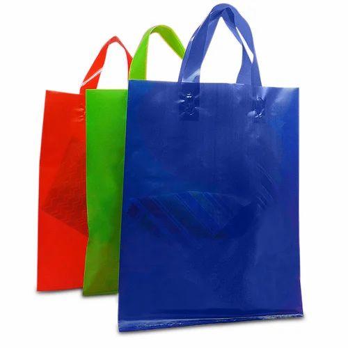 Plain Colored Plastic Bags Capacity 1kg