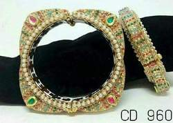 Kundan Work Bangle
