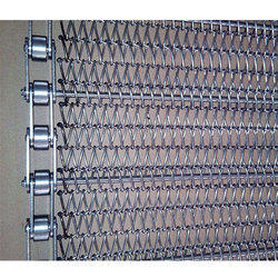 Wire Mesh Conveyor Belt With Chain