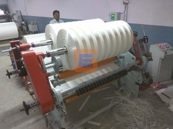Automatic Shreeji Tech Engineering Paper Cup Bottom Slitter Rewinder Machine, Capacity: 3 Ton
