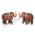 Decorative Brass Elephant Statue