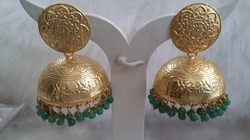 Golden Jhumka Earring