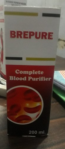 Blood Purifier Syrup, Packaging Size: 200 mL
