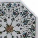 Carved Marble Inlay Table Top