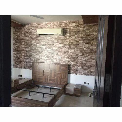 Bedroom Pvc Wall Paneling At Rs 75 Square Feet Patparganj Delhi