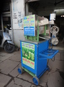 Prakash Stainless Steel 2 Roller Heavy Cane Crusher, Warranty: 1 - 3 Years
