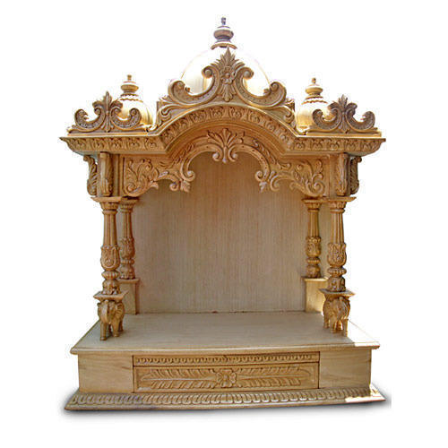 Designer Wooden Temple At Rs 75000 /piece