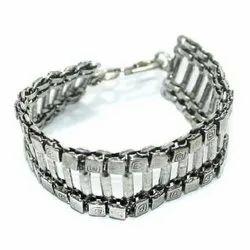 German Silver Bracelets, Size: Free