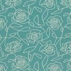 Blue Printed Home Decorating Fabrics, for Cushions