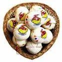 Hand Made Recycled Paper Mache Hand Painted  Christmas Ornaments Ball / Bauble