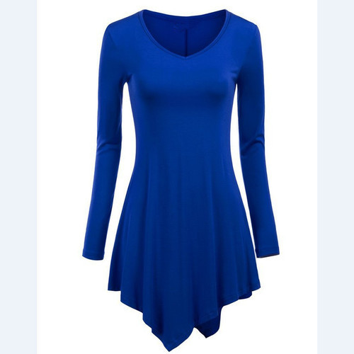 7afa686e680 Blue Ladies Long Tops