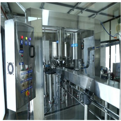 100 JPH Jar Washing and Filling Plant
