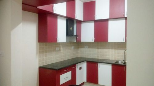 Modular Kitchen Designs Red Amp White Modular Kitchen