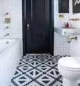 Printed Bathroom Floor Tiles