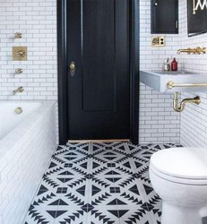 Printed Bathroom Floor Tiles