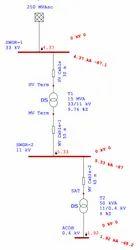 Electrical System Studies using ETAP Software