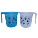 Printed Plastic Bath Mug