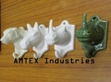 Ceramic Animal Figurine Hooks