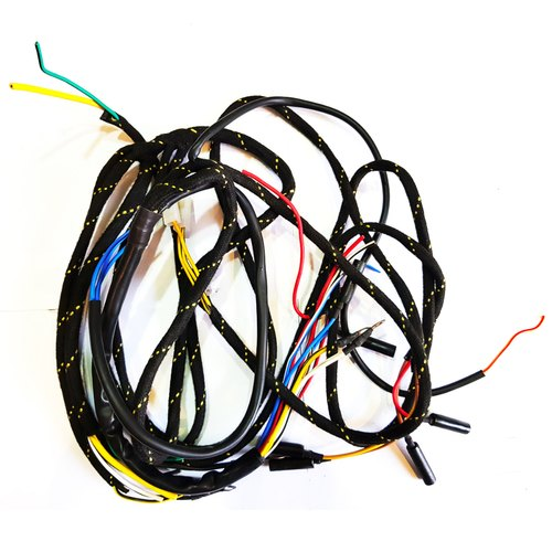 braided wiring harness auto spare parts electrical