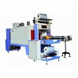 VG Pack Stainless Steel Shrink Tunnel With Web Sealer, Automatic Grade: Automatic
