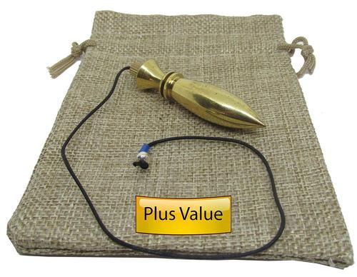 Dowsing Pendulum - Brass Dowsing Pendulum Model - Super For