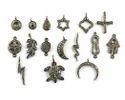 Pave Diamond Charm Pendant