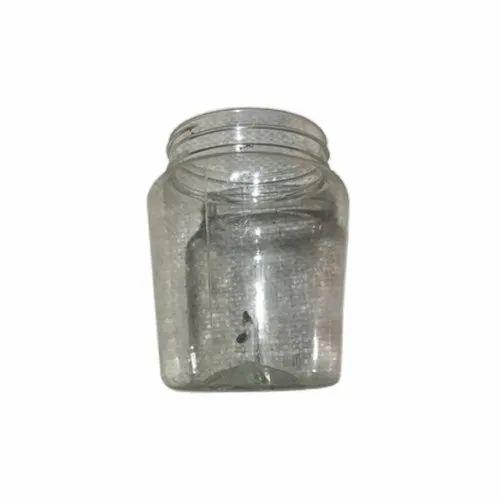 500 Ml Transparent Pet Pharmaceutical Jar