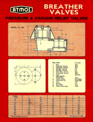 Standard Pressure Cum Vacuum Relief Valve (VARAC Type) Open to Atmosphere