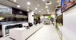 Showroom Interior Designing, Departmental Store Interior