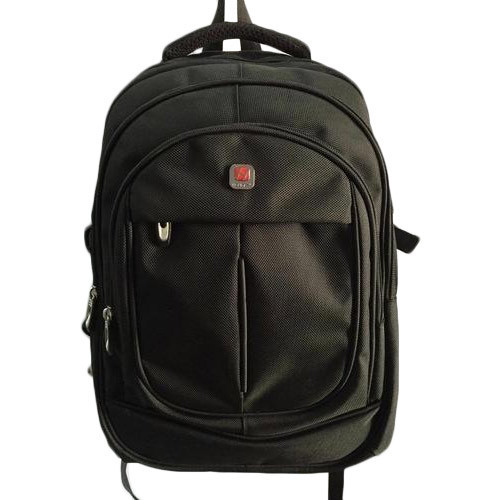 Polyester Laptop Bag Black Laptop Backpack, For Laptop And College Bag, Capacity: 5 Kg
