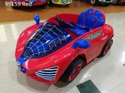 Blue Spiderman Car for Kids