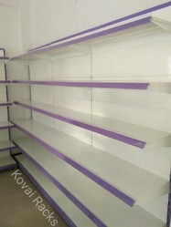 supermarket shelves - side wall shelves manufacturer from coimbatore Side Wall Shelves