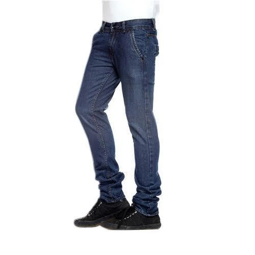 Blue Mens Comfort Fit Jeans