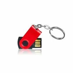 Mini Swivel Pendrive with Keyring