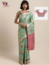 New Wedding Wear Silk Saree From YNF Dhara Catalog Collection