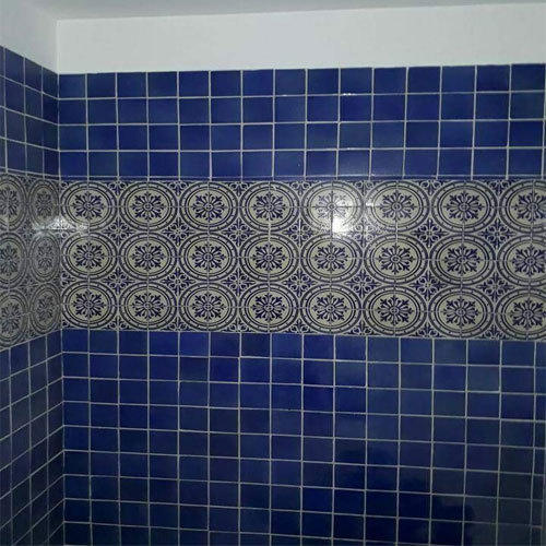 Printed Ceramic Tiles Decorative Bathroom Tiles, 5-10 Mm