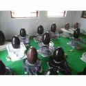 Black Marble Shiva Lingam
