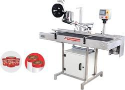 Top and Bottom Sticker Labeling Machine