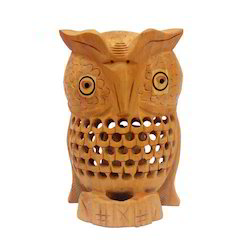 Wooden Carving Owl