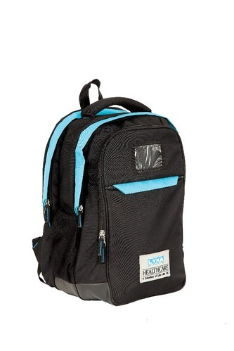 349e65104a1 Scout Black And Light Blue Corporate Backpack, Rs 600  piece   ID ...