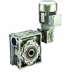 Double Worm Geared Motor